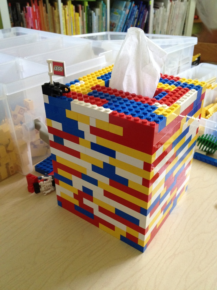 Made our own version of the tissue box cover :): Lego Fun, Kids Bedroom, Tissue Box Cover, Box Covers, Crafts Kids, Lego Room, Classroom Ideas, Craft Ideas, Bedroom Ideas