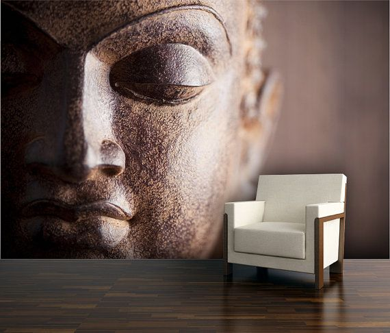 Buddha Wall Mural Repositionable Peel And Stick Wall By StyleAwall