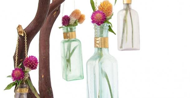 Home DIY: Zo maak je eenvoudig de mooiste hangende vazen