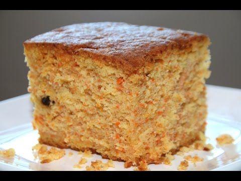 Breadmaker Carrot Cake