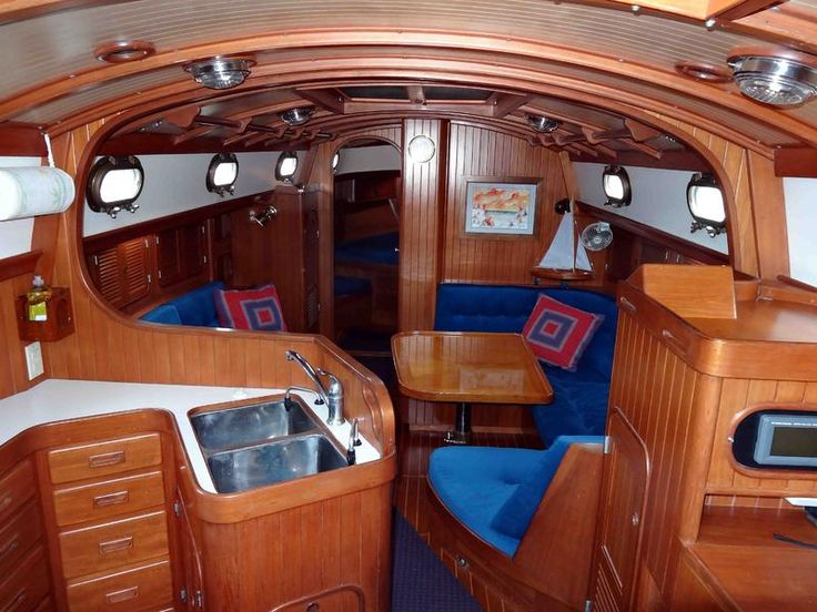 233 Best Inside The Boat Images On Pinterest Sailing Ships Boats And Sailboat Interior