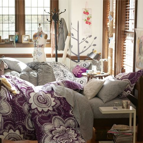 perfect and unique sets of bedding that can be mixed-n-matched
