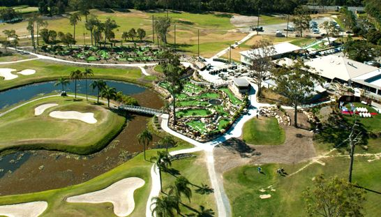 Come play 18 Holes for 2 at the incredible Parkwood International on the Gold Coast! This offer includes a shared motorised cart, large bucket of range balls & free Social Membership! Normally $166, today just $107. Don't miss this opportunity to save 64%! #golf #golfqld