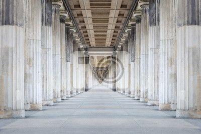 Colonnade na obrazach Redro. Najlepszej jakości fototapety, naklejki, obrazy, plakaty, poduszki. Chcesz ozdobić swój dom? Tylko z Redro