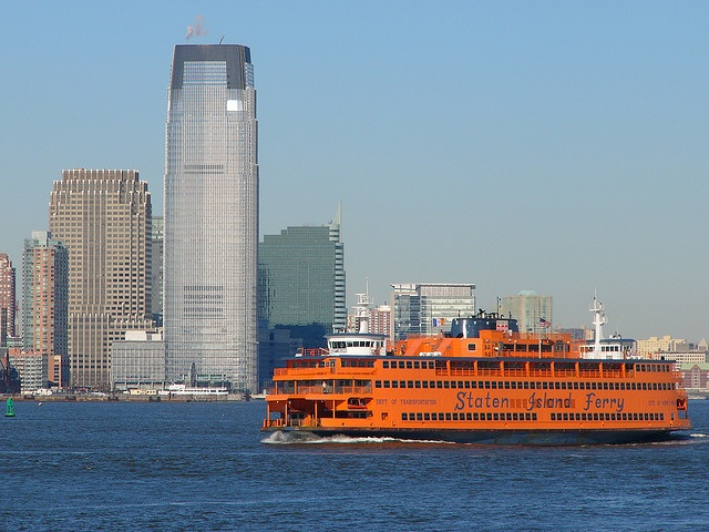 Staten Island Ferry - One of the best, free things to do as a tourist in NYC!