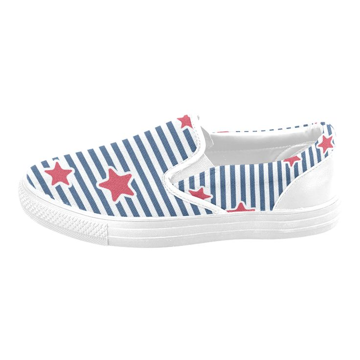 Blue, Red and White Stars and Stripes Men