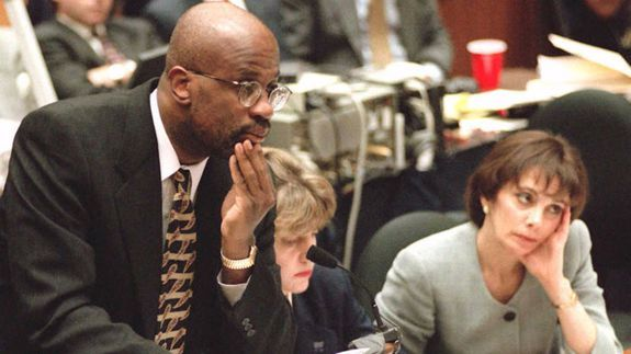 Christopher Darden says he's guilty...of hooking up with Marcia Clark