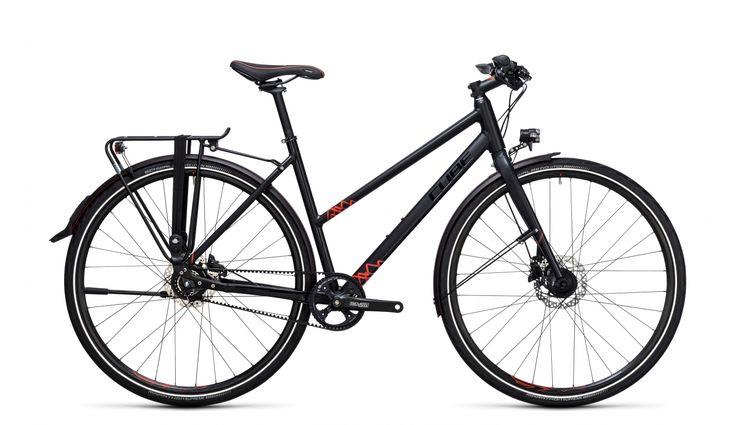 Cube Travel SL Trapez black'n'red günstig kaufen ▷ fahrrad.de