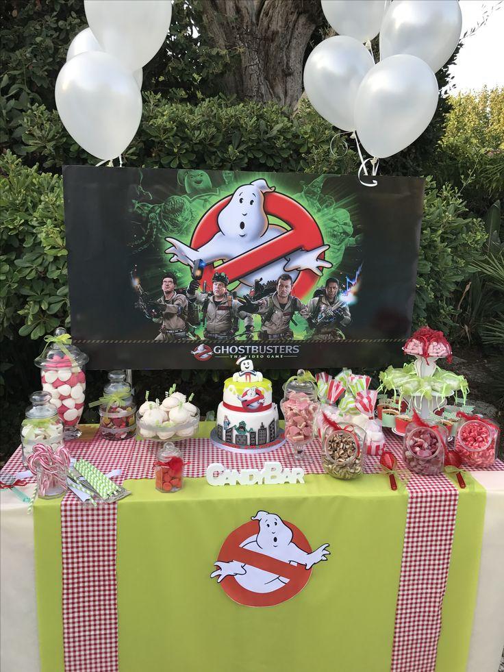 Кенди бар в стиле Охотники за привидениями. Декор детских праздников Монако Канны 0643568447