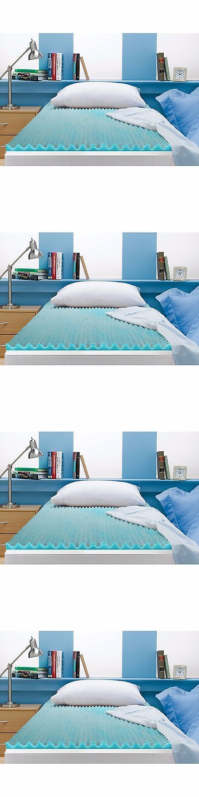 Mattress Pads and Feather Beds 175751: 3 Memory Foam Gel Mattress Topper Cover Orthopedic Bed Sleep Pad Queen Size New -> BUY IT NOW ONLY: $50.81 on eBay!