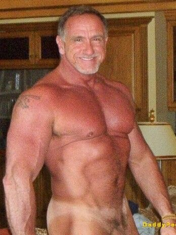old naked gay man photo
