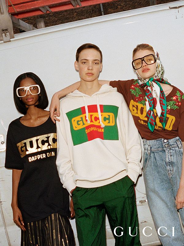 c25d1ba4336a Introducing the Gucci-Dapper Dan collection for Fall Winter 2018. Dapper Dan,  a well-known Harlem designer, invented his own style in the 80s and 90s.