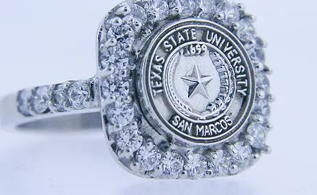Custom made class rings for Tarleton State University and other area colleges.