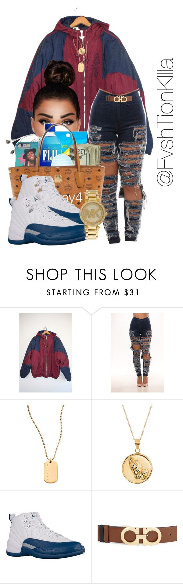 """""""Chance the rapper~Mixtape"""" by fvshtionkilla ❤ liked on Polyvore featuring adidas, Trina Turk, Salvatore Ferragamo and Michael Kors"""