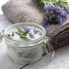 Home-made Back Pain Bath Salts