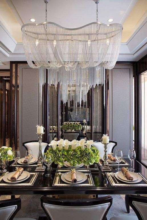 Luxury Formal Dining Room Sets: 40+ Formal Dining Room Decorating Ideas For Luxury Home