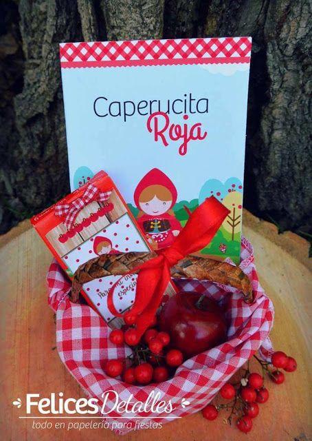 Kırmızı Başlıklı Kız Temalı Parti Fikirleri (2) - Neşeli Süs Evim - Ücretsiz Doğum Günü Süsleri