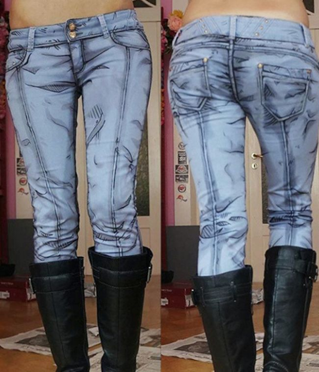 Transform into an anime character with these DIY jeans