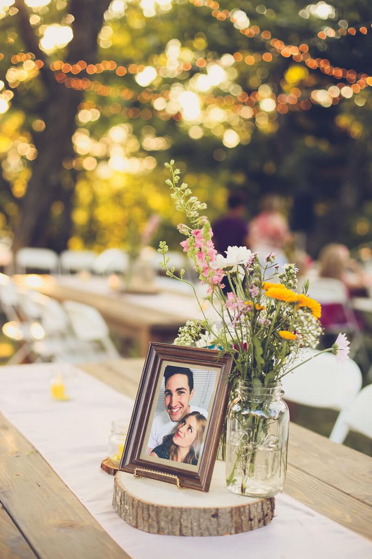 Tons of great Bohemian wedding ideas in this wildflower filled wedding! Everything from twinkling lights to wedding games to keep everyone entertained.