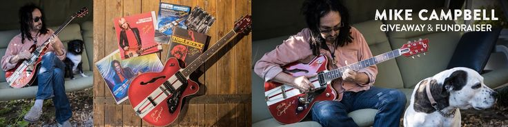 SINGLE ENTRY:  Sign up and win the Mike Campbell Giveaway & Fundraiser on Reverb.com!
