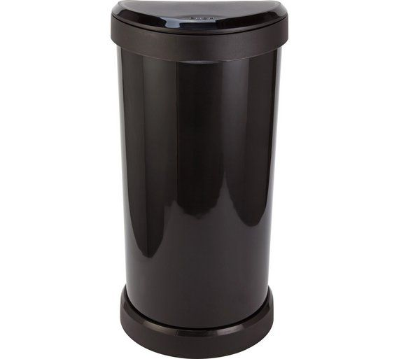 Buy Curver 40 Litre Deco Touch Top Kitchen Bin - Black at Argos.co.uk, visit Argos.co.uk to shop online for Kitchen bins, Kitchenware, Cooking, dining and kitchen equipment, Home and garden