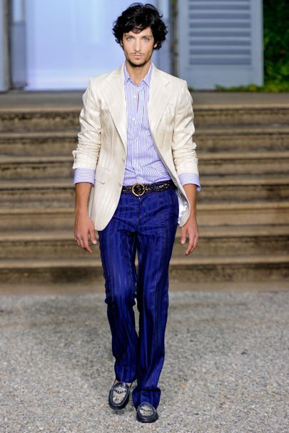Роберто Кавалли Весна/Лето 2012 Мужская Одежда | Британского Vogue
