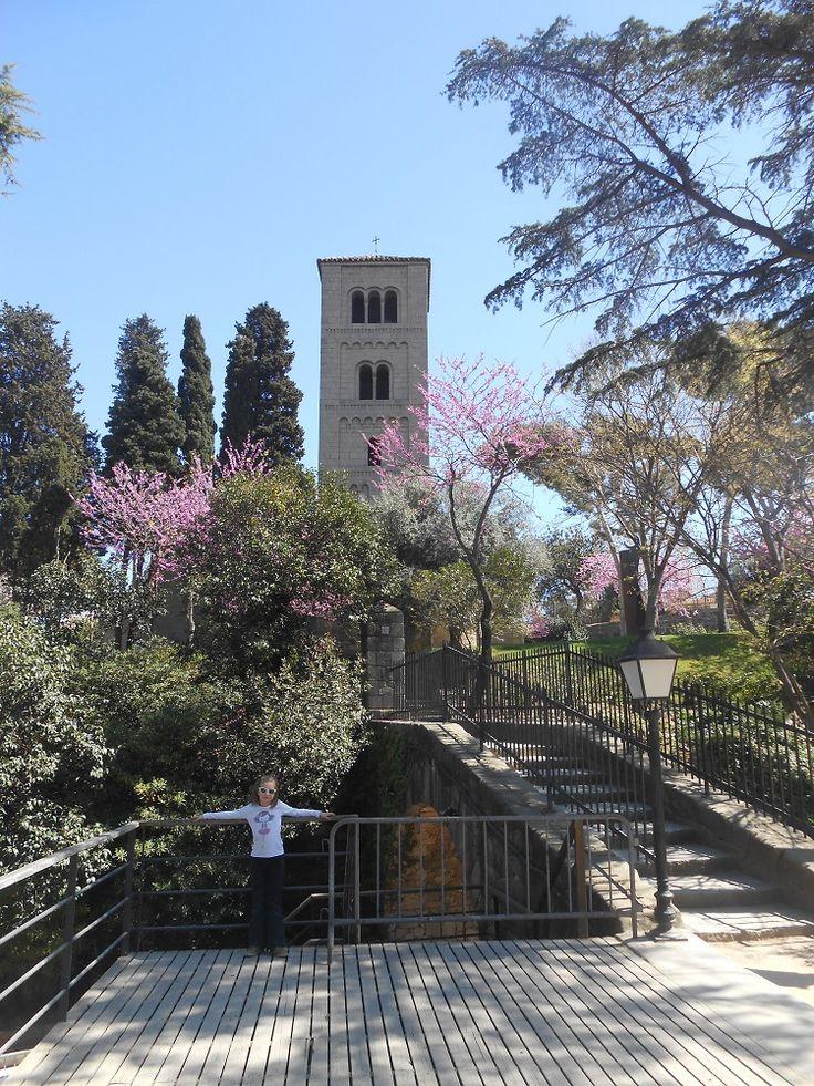 Jardins Poble Espanyol Barcelone