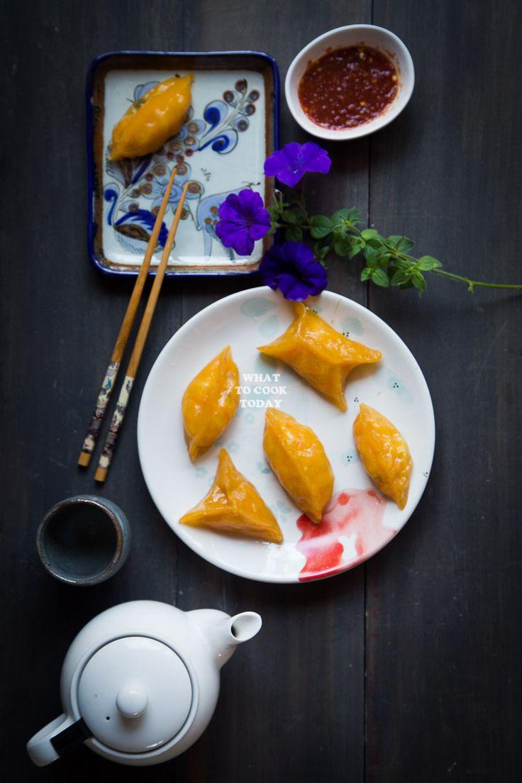Chai Pau/Chai Kueh Ubi Medan (Steamed Vegetable Dumplings)