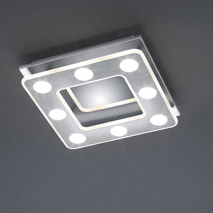 Luxury Deckenleuchte mit OSRAM Technologie Die quadratische Lampe kann an der Decke oder der Wand montiert werden u die Lampe kommt aus dem Hause OSRAM