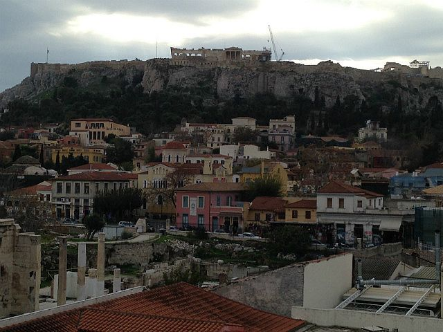 """360"" by TravelPod blogger emilygeorgia18 from the entry ""Good to be back."" on Monday, November 24, 2014 in Athens, Greece"