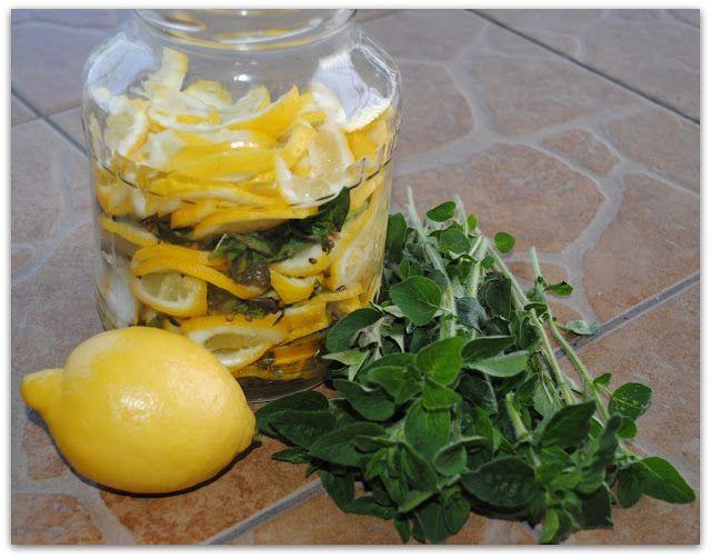 MagiczKa: Kiszonki - cytrynki i zielsko