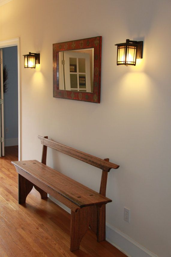Hall Foyer Furniture : Shaker hall foyer bench seating benches foyers and