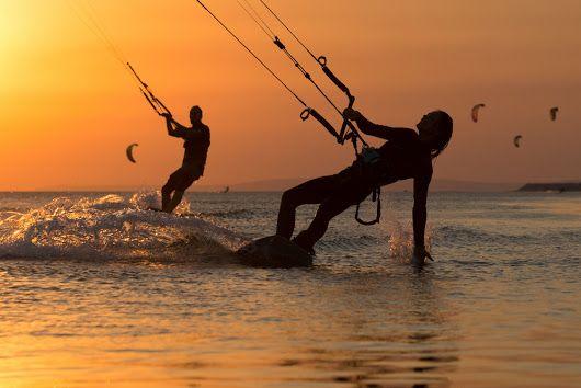 Kitesurfen op Curaçao : respecteer de elementen - Curaçao Fantástiko