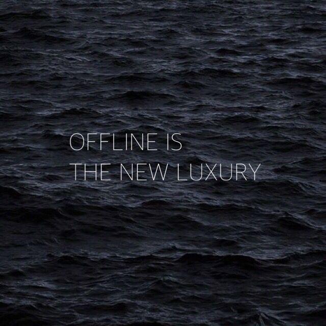 Offline is the new luxury – Husligheter.se