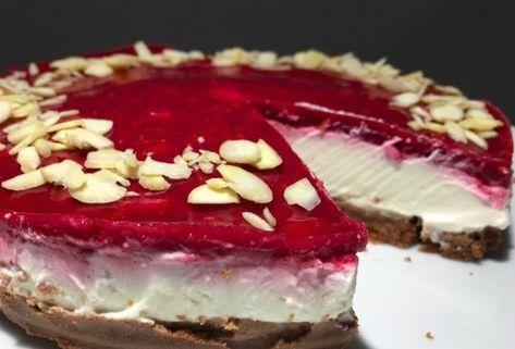 Bez cukru, bez múky a iba za 10 minút pripravený nepečený cheesecake s malinami - Báječná vareška