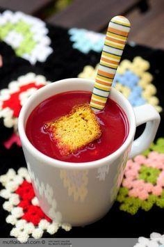 Kırmızı Pancar Çorbası - Tarifin püf noktaları, binlerce yemek tarifi ve daha fazlası...