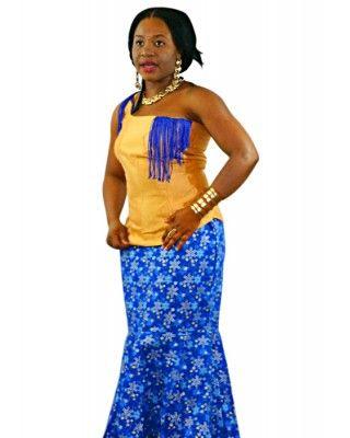 African Attire Skirt Sets AASS001