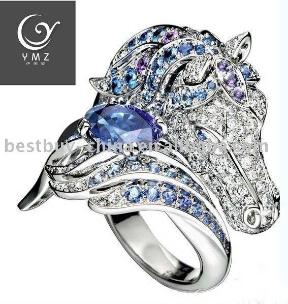 jeweled ring tack