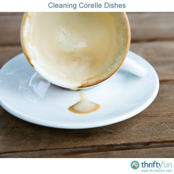 This is a guide about cleaning Corelle dishes. A durable glass dinnerware that is break and chip resistant, but can develop stubborn stains.