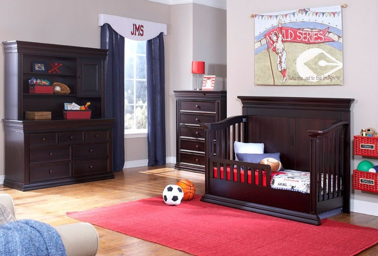 Legendary Flat Top Panel Back Crib Converted Into Toddler