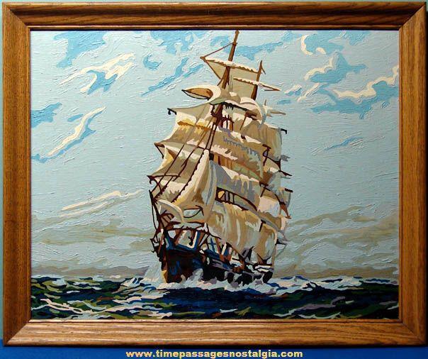 181 best images about vintage paint by number on pinterest sailing ships vintage and museums. Black Bedroom Furniture Sets. Home Design Ideas