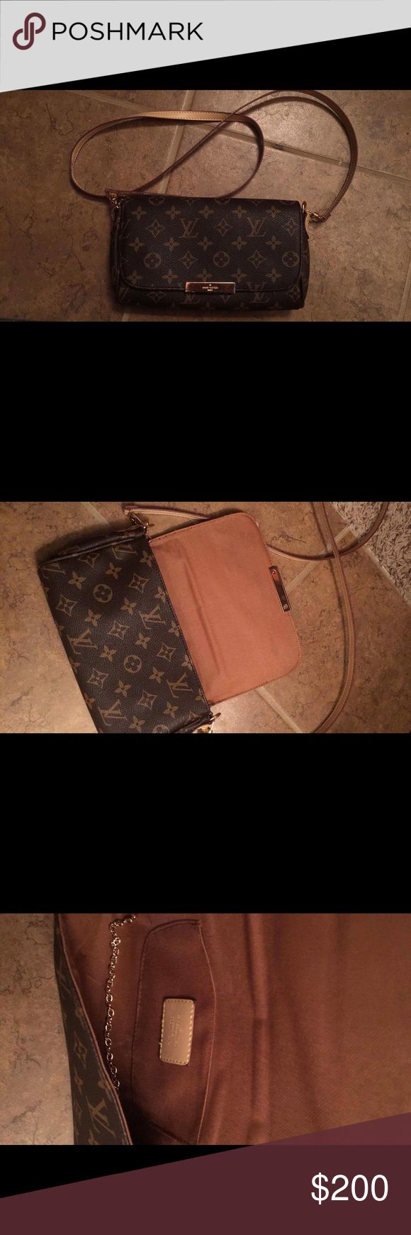 Louis Vuitton crossbody Favorite mm style bag. NON AUTH! Very cute and stylish. Comes with dust bag Louis Vuitton Bags Crossbody Bags