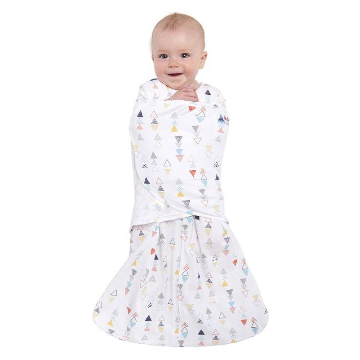 HaloSleep.com - HALO® SleepSack® Swaddle 100% Cotton     Multi Color Triangle , $28.95 (http://www.halosleep.com/halo-sleepsack-swaddle-100-cotton-multi-color-triangle/)