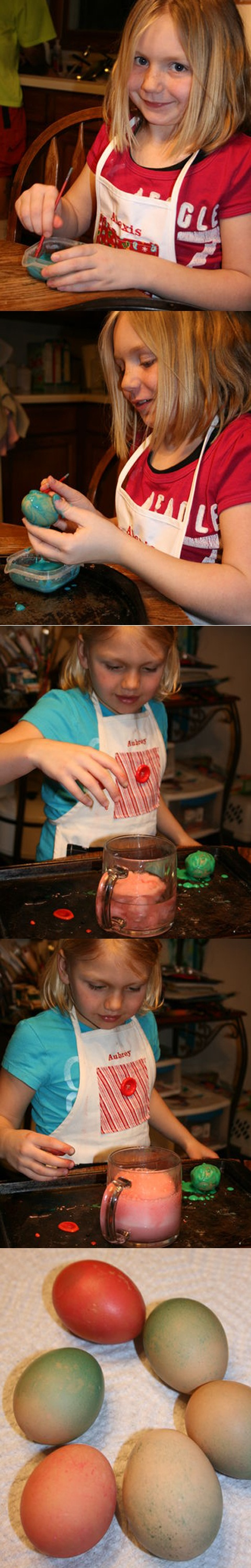 """""""Volcano"""" Eggs - Fun Easter Project for Kids #Easter"""