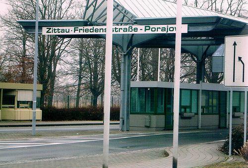 Zittau Sachsen Grenze nach Polen