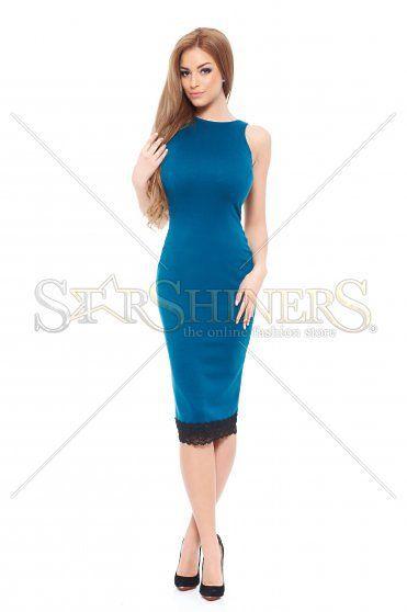 StarShinerS Sensual Look Turquoise Dress