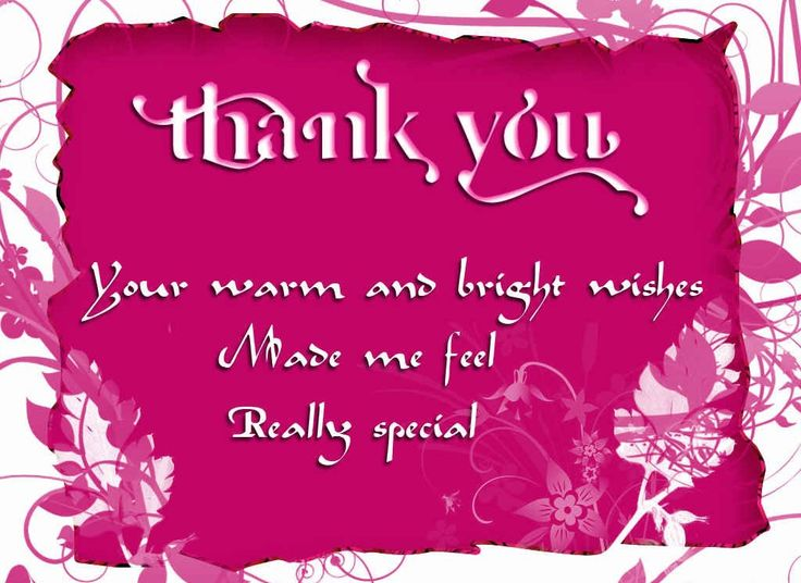 113 best thank you notes images on pinterest thanks appreciation thank you quotes for birthday wishes m4hsunfo Image collections
