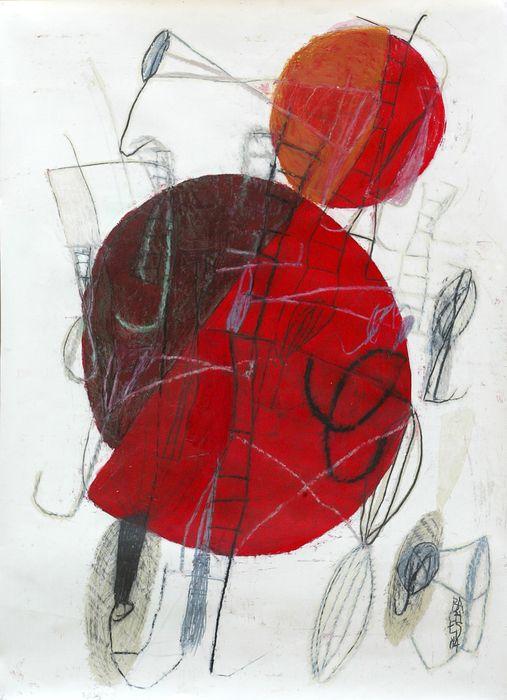 Composition 11 art print by jean noël bachès on artsider com