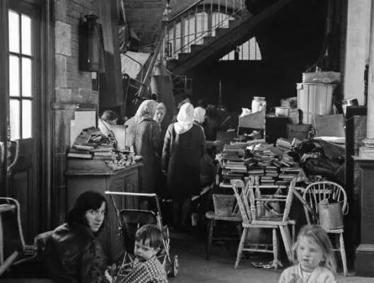 The Iveagh Market in Dublin 1969.