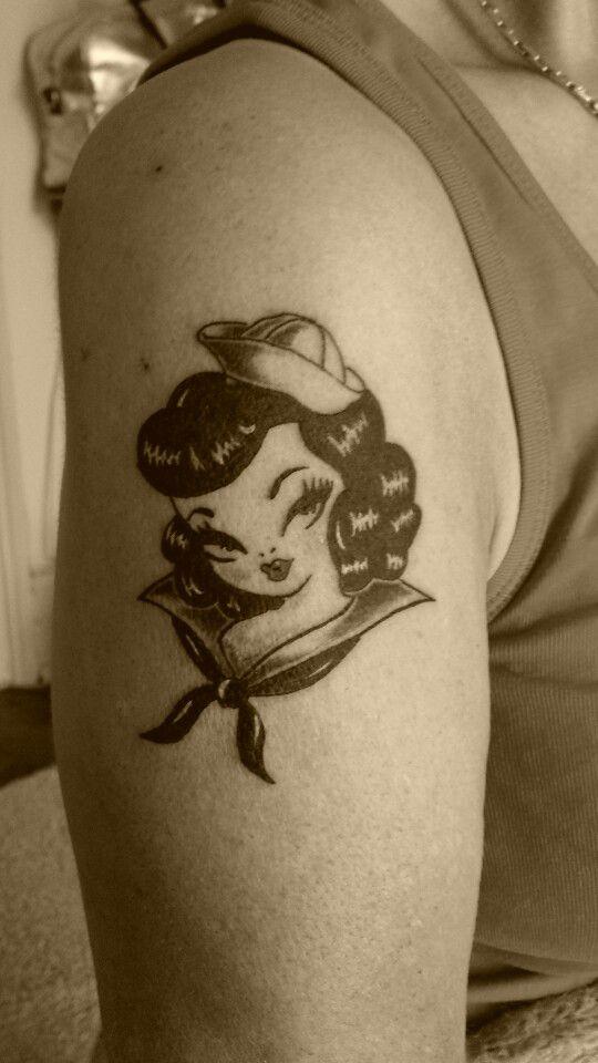 New School Pin Up Tattoo Pin'up new ...